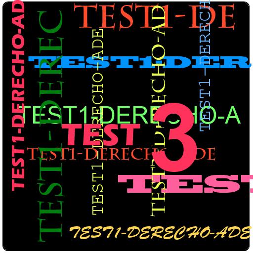 TEST3 Derecho para ADE