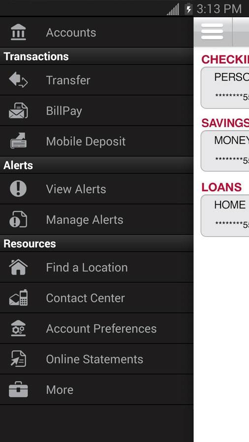 Bank of Oklahoma Mobile- screenshot