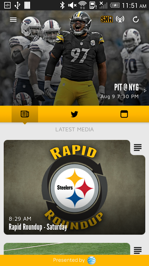 Pittsburgh Steelers- screenshot