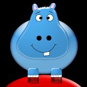 Bouncing Hippos