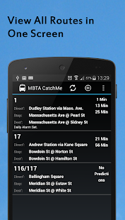 MBTA Catche Me (Maps & Alerts) - screenshot thumbnail