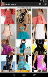 時尚連衣裙
