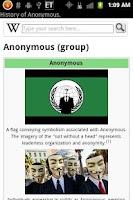 Screenshot of Anonymous Wiki