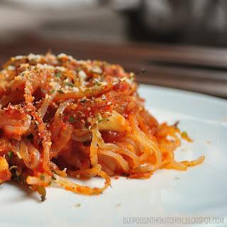 Spaghetti-esque Shirataki Noodles