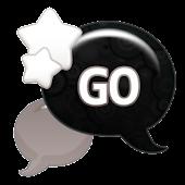 GO SMS - Gray Star Sky