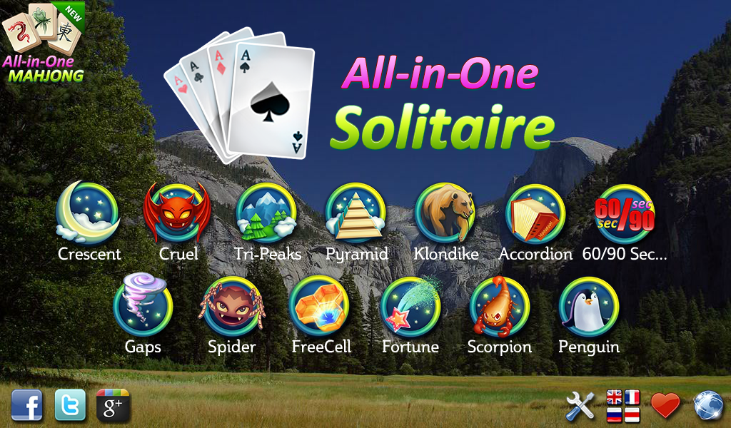 All-in-One Solitaire FREE - screenshot