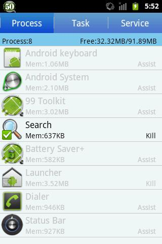 99 Toolkit cache battery more - screenshot