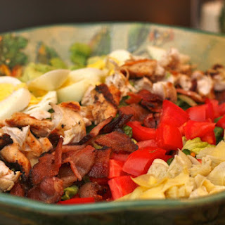 Cobb Salad with Basil Vinaigrette