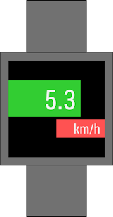 Speedometer for Android Wear- screenshot thumbnail