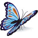 Beautiful Butterfly Wallpaper logo