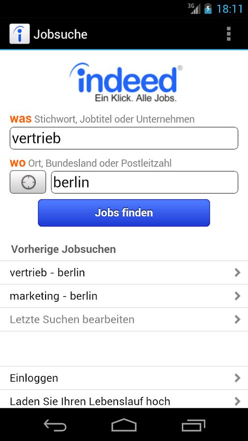 Indeed Berlin Jobs