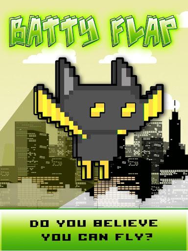 Flappy Bat - Gotham Style