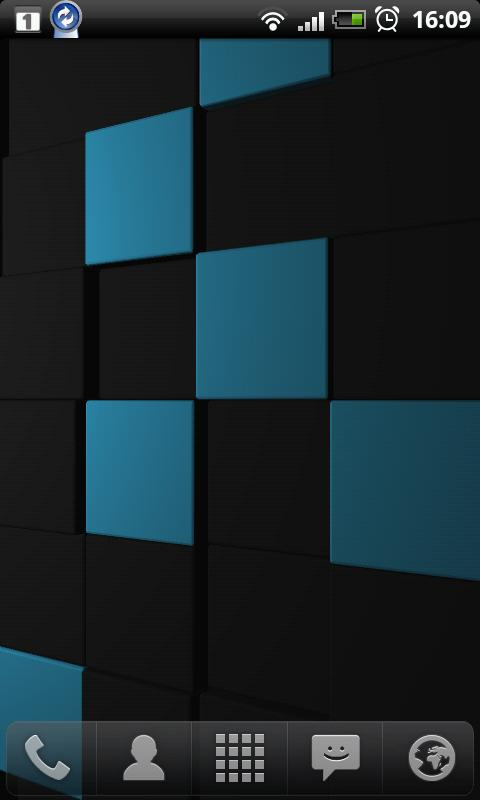 Cubescape 3D Live Wallpaper- screenshot