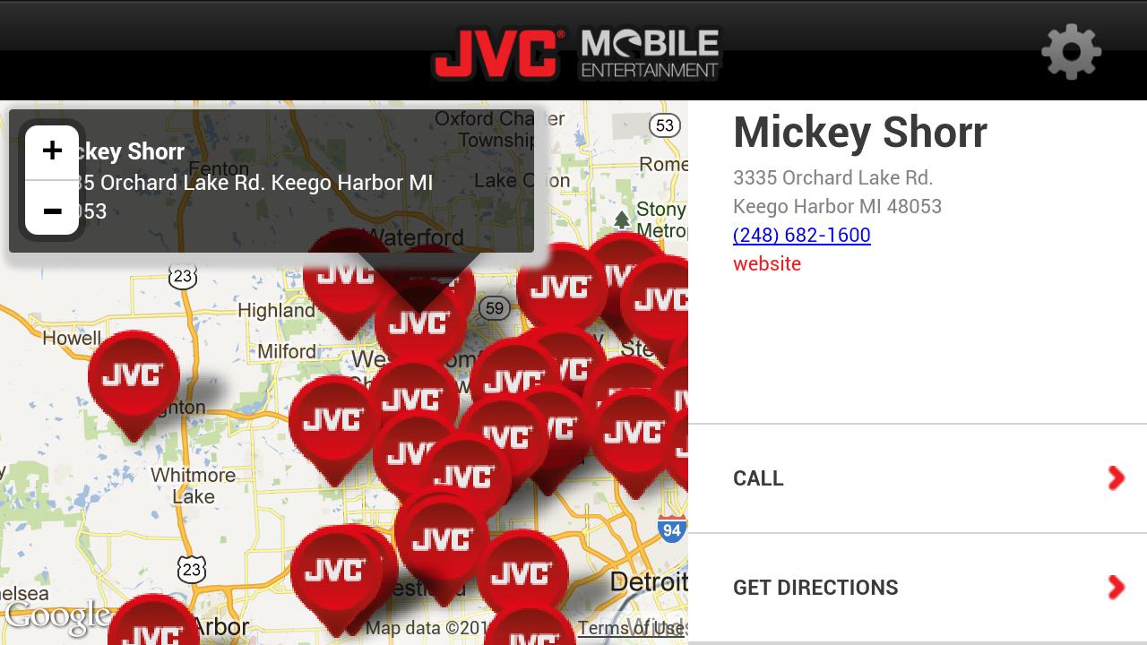 JVC Mobile Plugged-In - screenshot