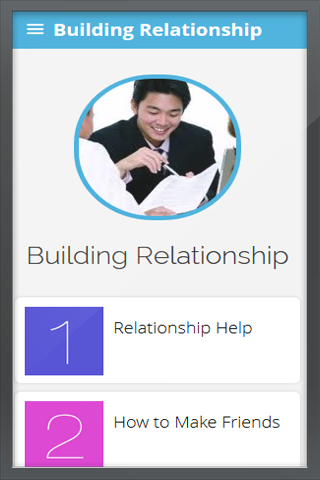 Building Relationships Skills