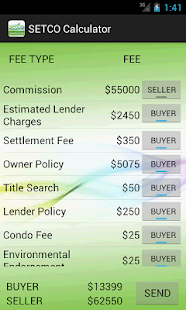 SETCO Calculator- screenshot thumbnail