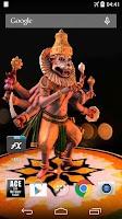 Screenshot of 3D Narasimha Live Wallpaper