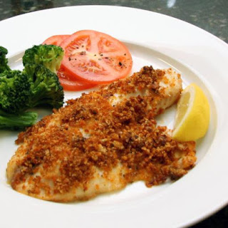 Baked Tilapia With Cajun Bread Crumb Topping