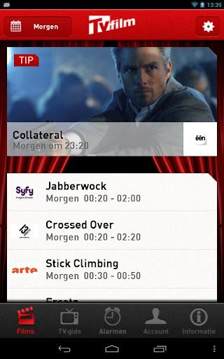 TVFilm TV- en Filmgids Wekker