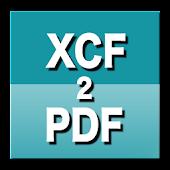 XCF to PDF Converter