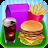 Kids Burger Meal - Fast Food! logo