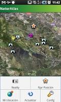 Screenshot of Atlas de Naturaleza