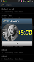 Screenshot of CTU 24 Alarm (Free)