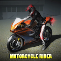 Motorcycle Rider - Highway icon