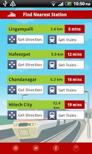 MMTS Train Timings- screenshot thumbnail