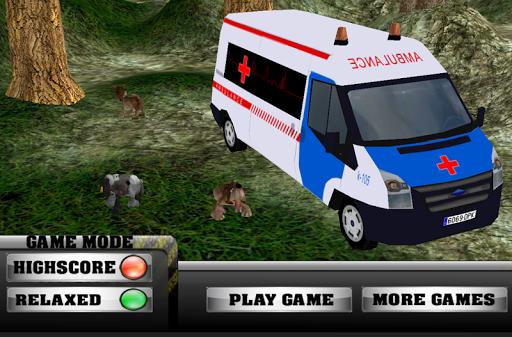救護車寵物救援停車