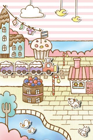 Sweets Shop LiveWallpaper - screenshot