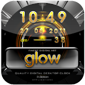 digital clock GLOW