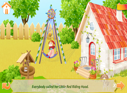 【免費書籍App】Little Red Riding Hood - Free-APP點子