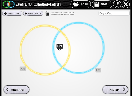Venn Diagram- screenshot thumbnail