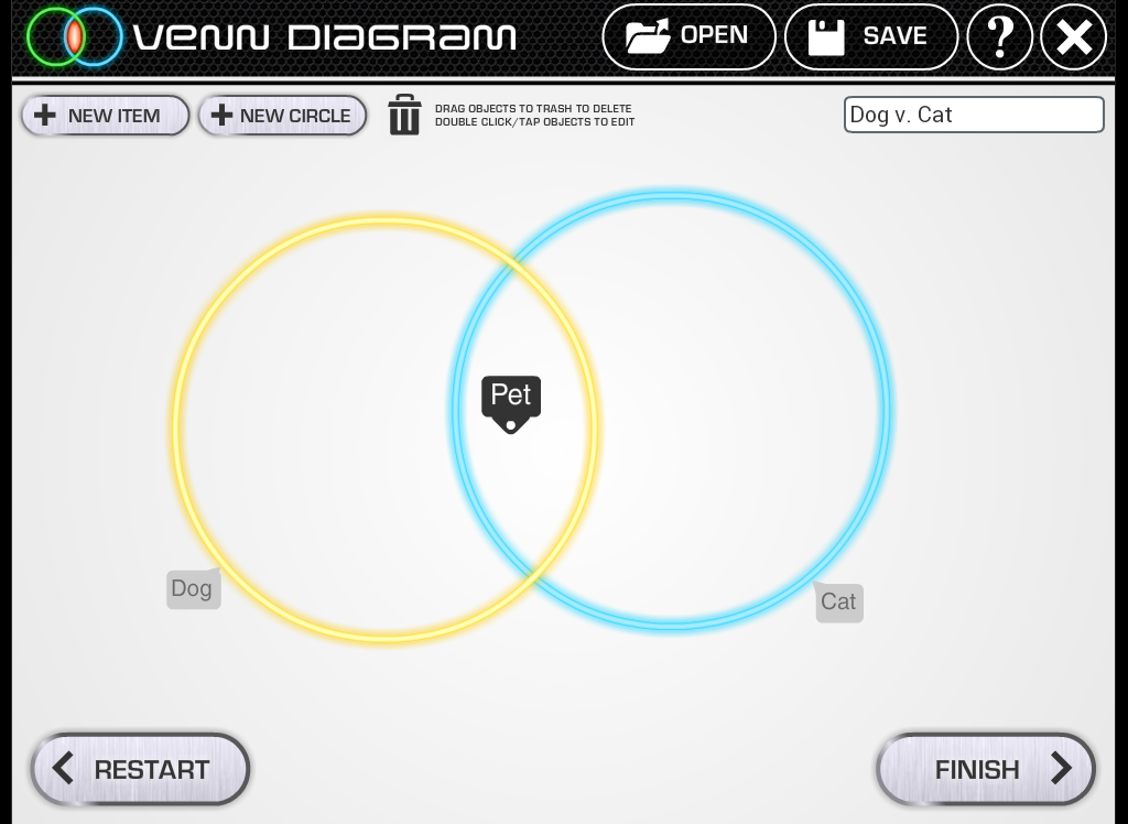 Venn Diagram- screenshot