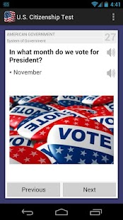U.S. Citizenship Test 2014 - screenshot thumbnail