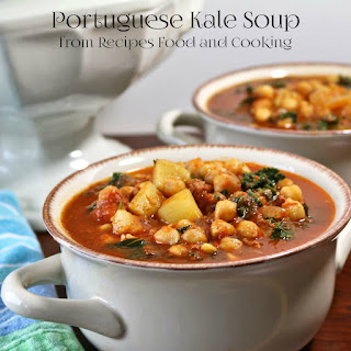 Portuguese Kale Soup #Sunday Supper