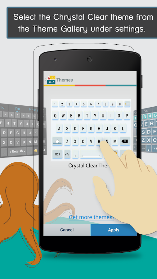 ai.type Crystal Clear Keyboard- screenshot