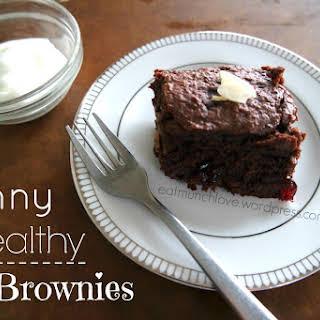 Skinny Healthy Brownies (vegan).
