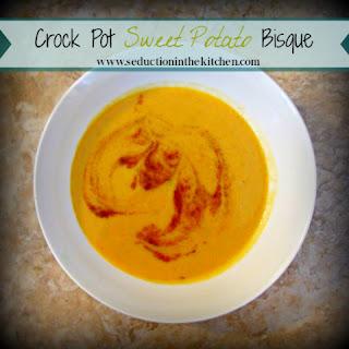 Crock Pot Sweet Potato Bisque