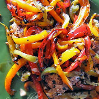 Gluten-Free Chicken Recipe with Balsamic Peppers