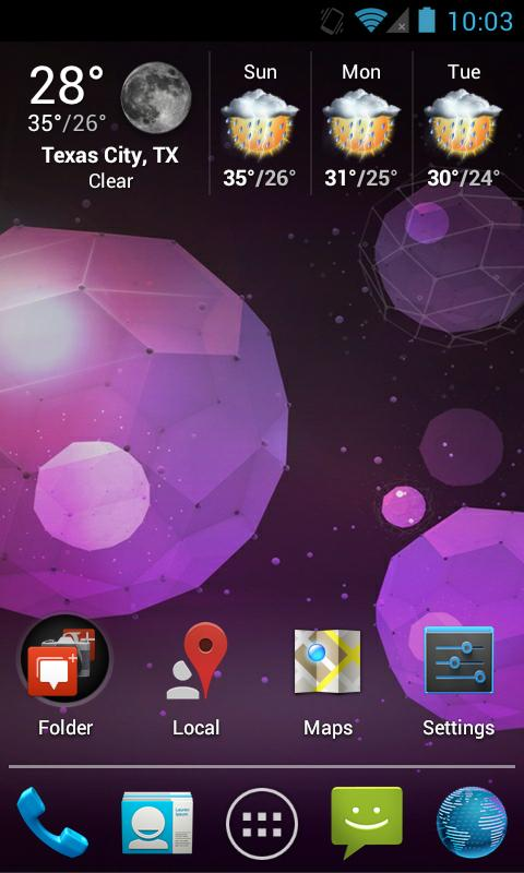 Jelly Bean Apex / Nova Theme - screenshot