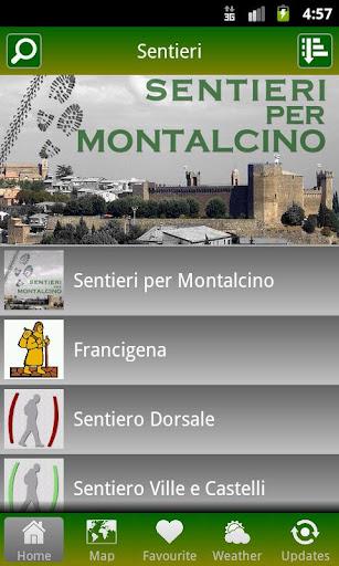 Sentieri per Montalcino