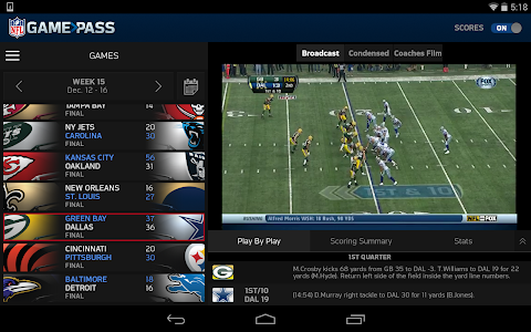 NFL Game Pass screenshot 10
