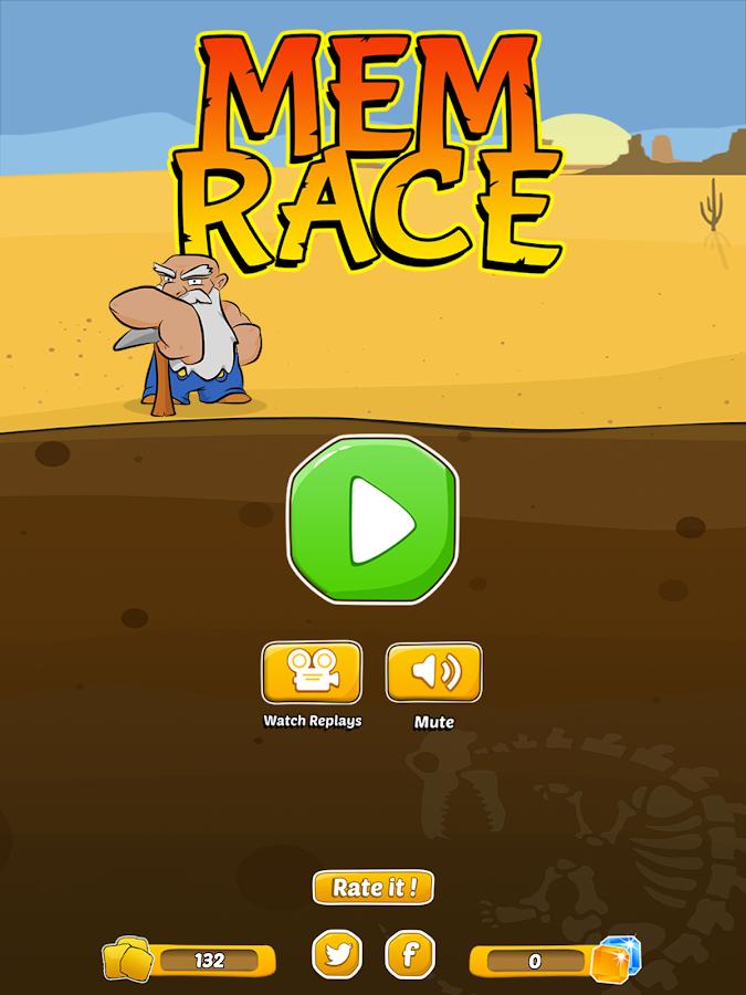 Memrace - Memory Mining - screenshot