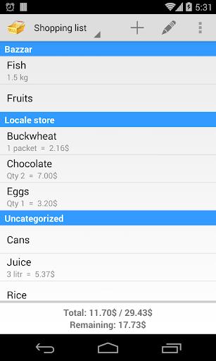 玩免費工具APP|下載购物清单 app不用錢|硬是要APP