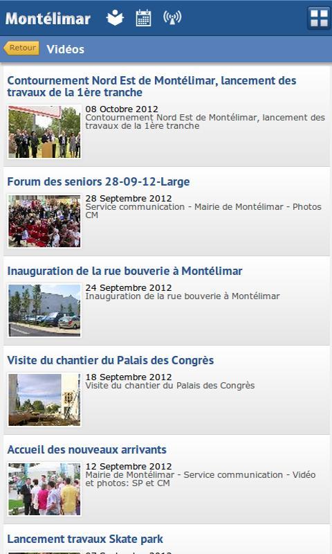 Ville de Montélimar - screenshot