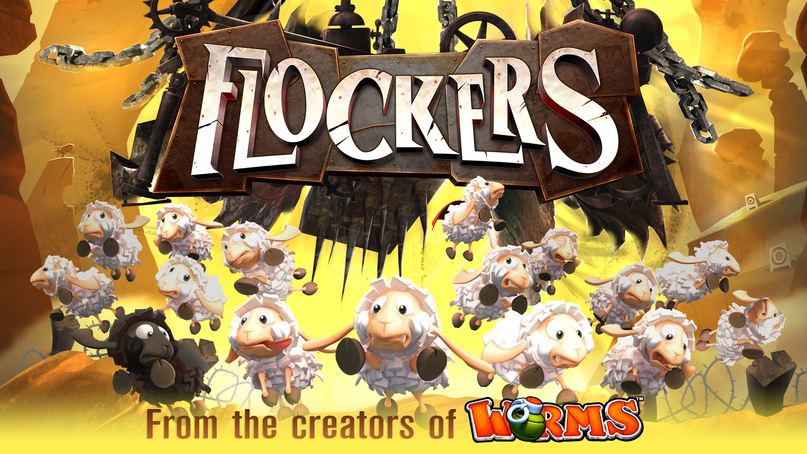 Flockers- screenshot
