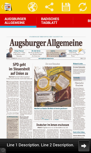 Front Pages of Germany
