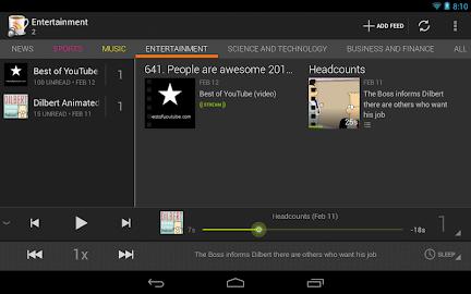 BeyondPod for Tablets - Legacy Screenshot 11